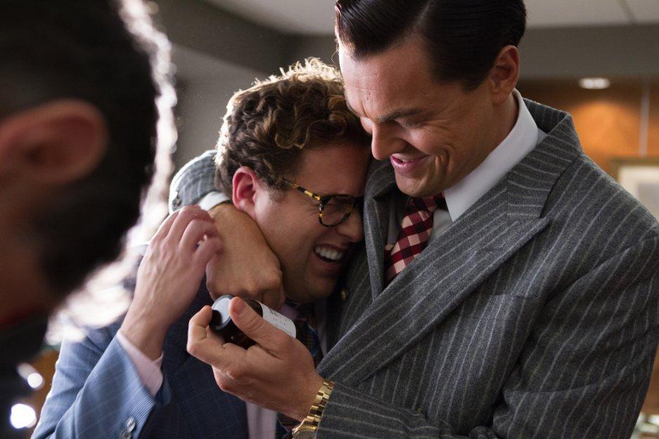 Jonah Hill e Leonardo DiCaprio
