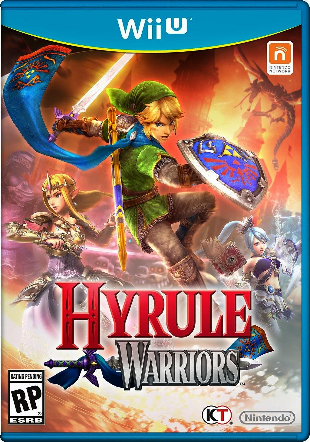 Hyrule Warriors capa