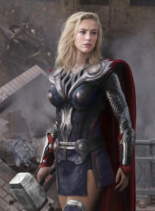 Amber HEard Thor