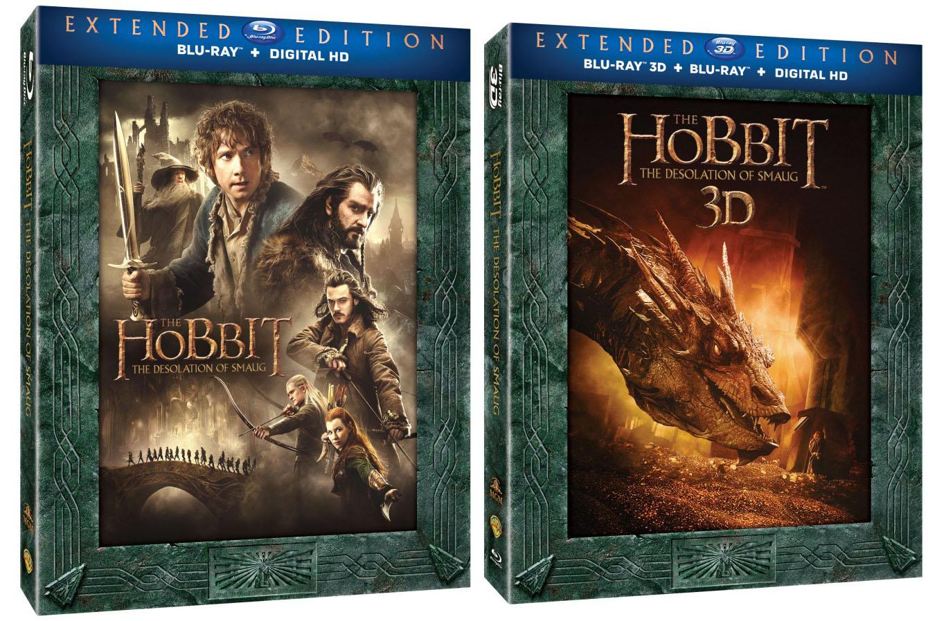 O Hobbit capas blu-ray