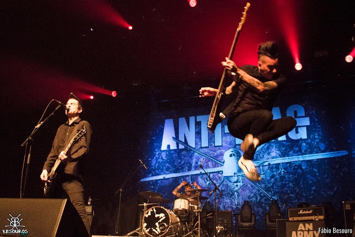 Anti-Flag (Foto: Reprodução/Fabio Besouro)