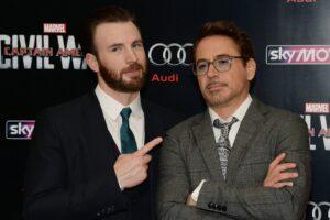 Chris Evans e Robert Downey Jr