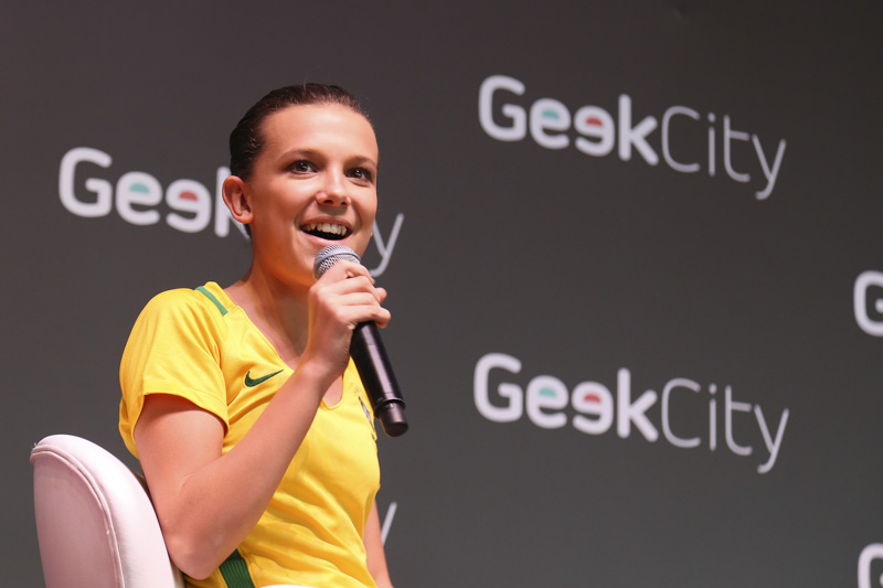 Geek City Millie Bobby Brown