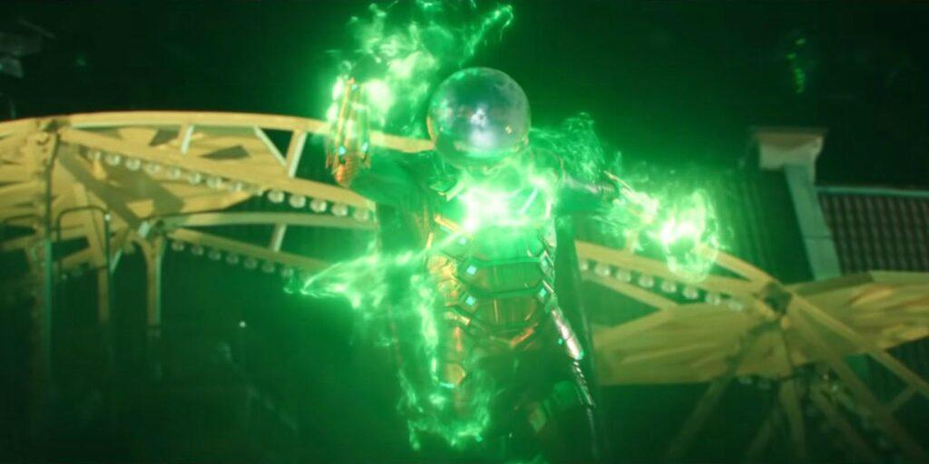 Mysterio em Homem-Aranha: Longe de Casa